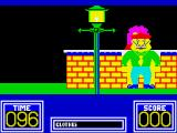 Benny Hill's Madcap Chase ZX Spectrum She's behind you, minding her own business