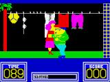 Benny Hill's Madcap Chase ZX Spectrum Get a move on, she's after you
