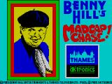 Benny Hill's Madcap Chase ZX Spectrum Loading screen