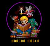 The Pagemaster SNES Horror world intro screen.