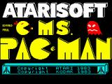 Ms. Pac-Man ZX Spectrum Loading screen