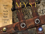 Myst V: End of Ages Windows Main Menu