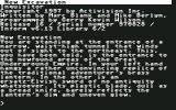 Zork: The Undiscovered Underground Commodore 64 copyright info, credits, and game beginning