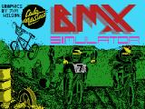 BMX Simulator MSX Loading screen