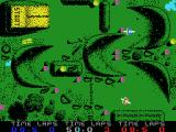 BMX Simulator MSX Various curves to negotiate