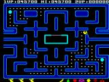 Ms. Pac-Man ZX Spectrum Caught by the ghost so one life is lost
