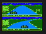 Pitstop II PC Booter A race in progress (CGA Composite mode)