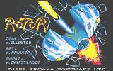 Rotor Atari ST Title screen