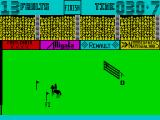 Show Jumping ZX Spectrum Course completed