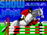 Show Jumping ZX Spectrum Loading screen