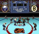 NHL Stanley Cup SNES The referee's about to drop the puck: let's get it on!