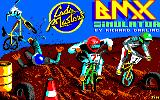 BMX Simulator Amstrad CPC Loading screen