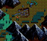Lunar: The Silver Star SEGA CD Outside of the village, on the world map.
