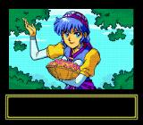 Lunar: The Silver Star SEGA CD Cut-scene with the lovely Luna.