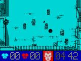 Street Cred Football ZX Spectrum Red team is attacking