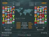 World Soccer: Winning Eleven 7 International Windows Team selection screen