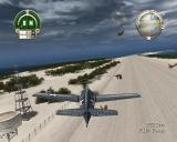 Heroes of the Pacific PlayStation 2 Wildcat over Wake Island runway