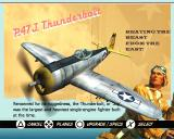 Heroes of the Pacific PlayStation 2 Plane select - Thunderbolt P-47J