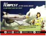 Heroes of the Pacific PlayStation 2 Plane select - Tempest MkII