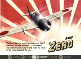 Heroes of the Pacific PlayStation 2 Plane select - A6M2 Zero 'Zeke'