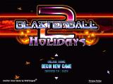 Blasterball 2: Holidays Windows Title screen