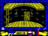 Mickey Mouse: The Computer Game ZX Spectrum Using a ladder