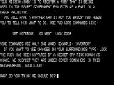 C.I.A. Adventure TRS-80 Instructions