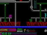 Dynamite Dan II ZX Spectrum Careful with that jump