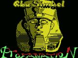 Abu Simbel Profanation MSX Title screen