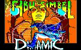 Abu Simbel Profanation Amstrad CPC Title screen