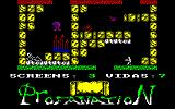 Abu Simbel Profanation Amstrad CPC Uh oh, I fell onto a spike trap!
