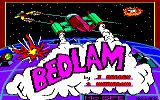Bedlam Amstrad CPC Title screen.