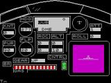 Airliner ZX Spectrum The main instrument panel