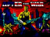 After the War ZX Spectrum Loading screen