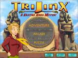 TriJinx: A Kristine Kross Mystery Windows Main menu