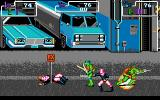 Teenage Mutant Ninja Turtles DOS Some more kicking and punching.
