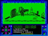 Astroclone ZX Spectrum The starting room