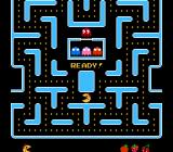 Ms. Pac-Man NES Maze 2, level 3 (Tengen version)