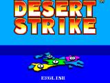 Desert Strike: Return to the Gulf SEGA Master System Country selection