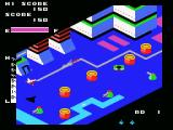 Zaxxon MSX Gameplay; watch out for missiles and other enemies