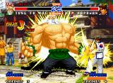 Real Bout Fatal Fury 2: The Newcomers Neo Geo Tung's big-body-muscle has a short (but powerful) importance in his move Super Grow: hit-standing!