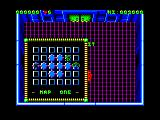 Smash T.V. Amstrad CPC Map One