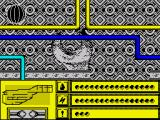 Rasterscan ZX Spectrum That wrench-like device can transport you or begin a puzzle
