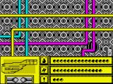 Rasterscan ZX Spectrum Exploring; apparently nothing useful here