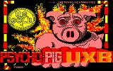 Psycho Pigs UXB Amstrad CPC Title