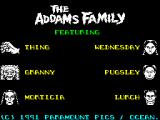 The Addams Family ZX Spectrum Overview of other characters