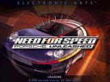 Need for Speed: Porsche Unleashed Windows Intro Screen