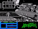 Alien Storm ZX Spectrum At the game over screen you are judged on how well you did
