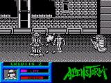 Alien Storm ZX Spectrum Be careful of the gas that these enemy shoots out