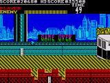 Vigilante ZX Spectrum Game over